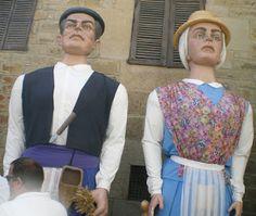 Santacara: Concentracion de Gigantes en Santacara Año 2013 (1...
