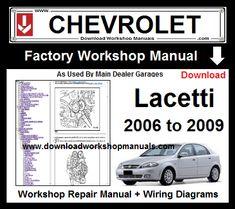 chevrolet lacetti service manual download