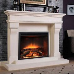 lyon marble mantel fireplace