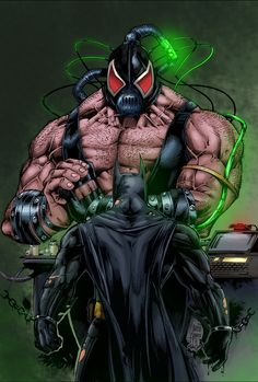 #Bane #Fan #Art. (Bane VS Batman) By: Darkdeathmask. (THE * 5 * STÅR * ÅWARD * OF * MAJOR ÅWESOMENESS!!!™)