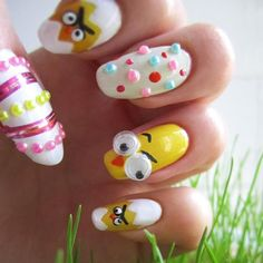 30 Cute and Trendy Easter Nail Designs Ideas - Nails C
