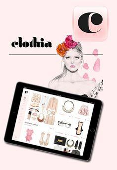 Clothia Closet & Stylist: Praktischer Outfitplaner  - Mode-Apps für Fashionistas: Fashion-Apps im Vergleich