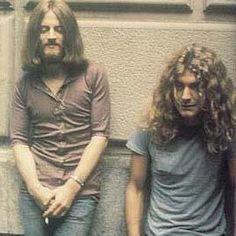 Robert Plant & John Paul Jones   Led Zeppelin