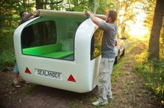 Sealander: It's a Camper … It's a Boat … It's Both! | Apartment Therapy