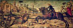 Carpaccio - Saint Georges Slaying The Dragon