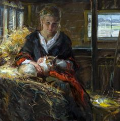 Afternoon Rest  Artist Daniel F. Gerhartz