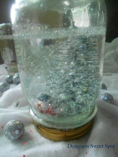 Hometalk :: Mason Jar Snow Globes Most of this you can get at Dollar Tree