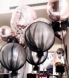 Image about pink in ballon🎈 by nermin on We Heart It 30th Birthday Parties, 16th Birthday, Birthday Party Decorations, Birthday Balloons, Birthday Nails, Balloon Decorations, Event Decor, Party Planning, Party Time