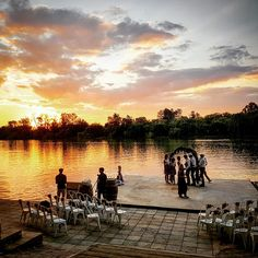 Wedding Venue on Vaal River near Parys Sunset Wedding, Studio Apartment, Wild Flowers, Wedding Venues, River, Instagram Posts, Beautiful, Inspiration, Bridge