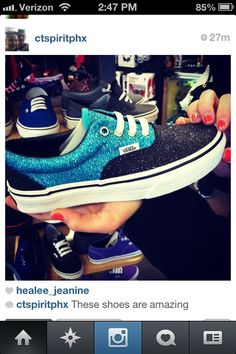 Awesome Vans #glitter