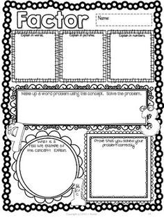 Multiplication Worksheet for Math Drills.. Free!! Also has