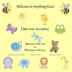 It's Monday and #AnythingGoes! That's right party friends you can link up any family friendly post! Have a post you want to give more reach?