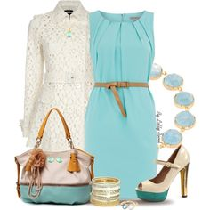 Aquamarine by lolly-ravel on Polyvore