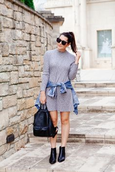 Knit Madewell dress