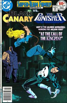 Super-Team Family: The Lost Issues! Black Canary and Punisher
