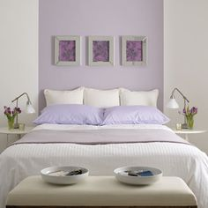 Browse popular Unique Lavender Paint Color Lavender Bedroom Paint Colors graphics at Wisatakuliner.xyz with our home designer, Cheryl Perez. Lilac Bedroom, Lilac Walls, Bedroom Green, Girls Bedroom, Bedroom Decor, Bedroom Ideas, Master Bedroom, Bedroom Wall, Wall Decor