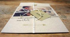Notre faire-part / wedding invitation