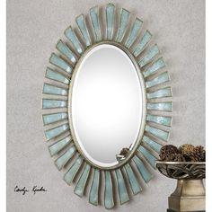Uttermost Morvoren Oval Mirror