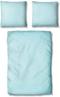 Bettwäsche, Auro Hometextile, »Basic-Uni«, mit seidigem Schimmer Mako Satin, Bed Pillows, Pillow Cases, Uni, Contemporary Bed Sheets, Pillows