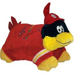 st.louis cardinal pillow :)