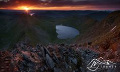 Red Tarn from Helvellyn by M J  Turner Photography on 500px