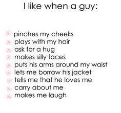 I like it when..