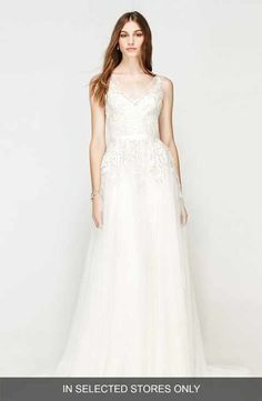 Willowby Bali Lace & Net A-Line Gown (In Stores Only)