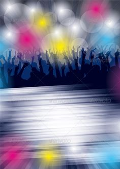 Abstract Party Background | Shape, Tag art and Art background