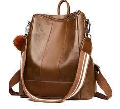 Leather Backpack, Leather Bag, Women's Backpack, Backpack Pattern, Backpack Brands, Girl Backpacks, Girls Bags, Vintage Bags, School Bags