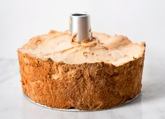 Forget soft peaks and gentle folding. This angel food cake is low-maintenance.