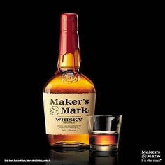Maker's Mark Whisky-my go to whisky. Almost all bars have it and it is classic and delicious. Love it straight to in an old fashioned.