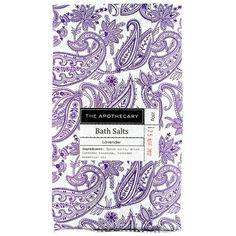 The Apothecary Lavender Bath Salts Lavender Blossoms, Lavender Oil, Lavender For Sleep, Lavender Bath Salts, Post Partum, Relaxing Bath, Bath Soak, Oils For Skin, Apothecary