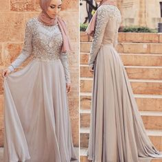 This Elegant muslim outift ideas for eid mubarak 54 image is part from Elegant Muslim Outfits Ideas for Eid Mubarak gallery and article, click read it bellow to see high resolutions quality image and another awesome image ideas. Trendy Dresses, Modest Dresses, Fashion Dresses, Prom Dresses, Wedding Dresses, Muslim Prom Dress, Hijab Prom Dress, Simple Hijab, Modele Hijab