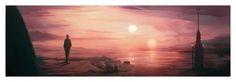 Star Wars : A New Hope panorama by Jordan Buckner (1920×675)