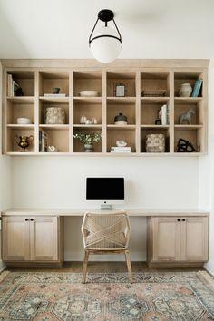 Office & Entry - Oakstone Homes Home Office Design, Home Office Decor, House Design, Design Homes, Home Decor, Built In Desk, Built Ins, Cool Office Space, Ideas Para Organizar