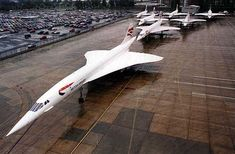 Perfect Parking - Concorde Formation Flight Photos — Civil Aviation Forum | Airliners.net