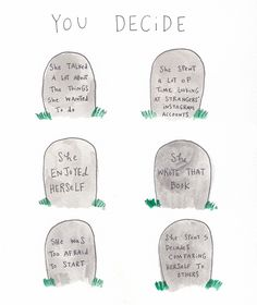 """""""Options"""" by Mari Andrew 3 or 4 :) The Words, Mari Andrew, Instagram Artist, Instagram Posts, Coaching, Energie Positive, Writing A Book, Writing Notebook, Notebook Ideas"""