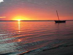 Ibo Island Lodge - Sonnenuntergang