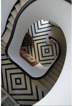 arty staircase and landing