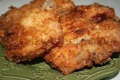 Lady & Son Fried Pork Chops ~ Paula Dean