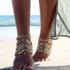 Barefoot Beach Wedding Sandals... ~ Hot Chocolates Blog