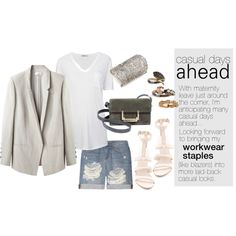 Casual Days Ahead by anh-9to5chic, via Polyvore