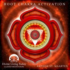 """Check Your Root Chakra! The root chakra is called Muladhara, which translates to """"base support."""" Since the root chakra is located at the base of the spine, this seems appropriate. 7 Chakras, Sept Chakras, Reiki, Cores Do Chakra, Arte Chakra, Chakra Symbole, Chakra Raiz, Muladhara Chakra, Root Chakra Healing"""