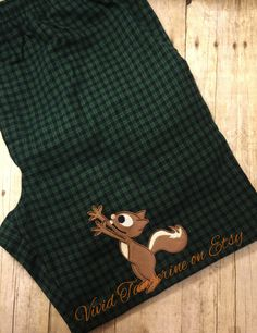 A personal favorite from my Etsy shop https://www.etsy.com/listing/259138857/x-large-squirrel-pajama-pants-mens