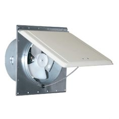 Mobile Home Trailer Sidewall Exhaust Vent Fan White/Mill Ventline