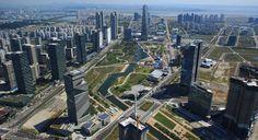 Songdo: A primeira cidade inteligente e sustentável do mundo - Stylo Urbano #arquitetura #cidades #futuro #sustentabilidade #tecnologia