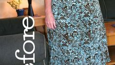 DIY: No Sew Dress Refashion