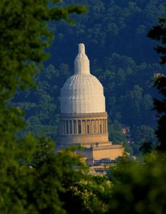 Charleston, West Virginia OMG ....this was so bad....when they were finishing our beautiful dome!!  Looked like a condom.