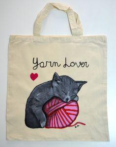 VIDA Tote Bag - Cat Fancier by VIDA W3PSU