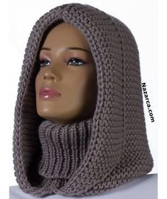 Im Internet - Love Crochet Guten Tag, Mädchen. Im Internet patterns afghan patterns crochet patterns afghan scarf blanket Bonnet Crochet, Crochet Beanie, Knitted Hats, Crochet Hats, Knit Cowl, Crochet Hooded Cowl, Hooded Scarf Pattern, Knitting Patterns, Sewing Patterns